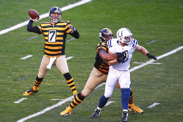 the best attitude 30c84 5c580 Roethlisberger Gives Yet Another Reason for You to Miss Him ...