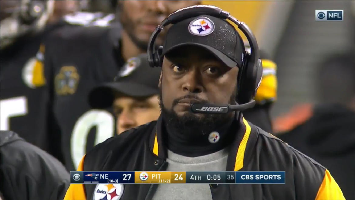 Steelers Coaches Mismanage Final Minute of Patriots Game