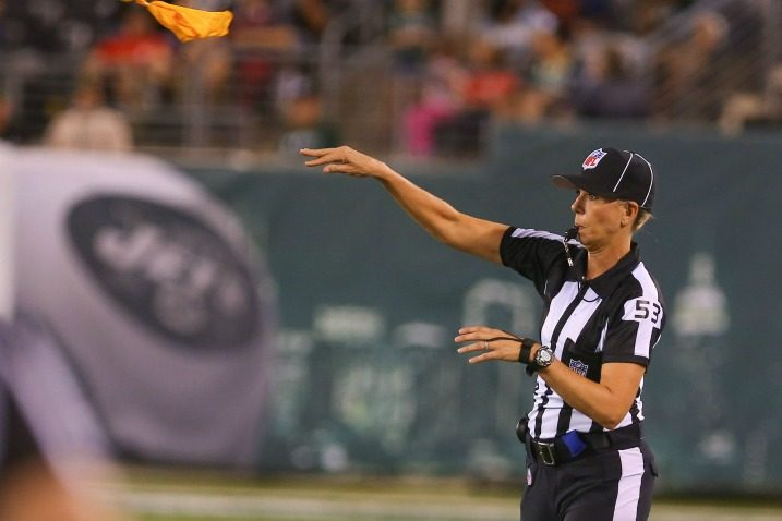 NFL Official Throws Flag