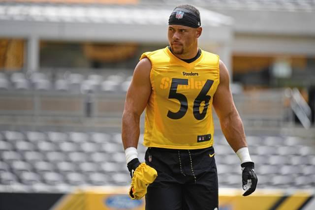 Highsmith of the Steelers