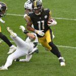 Claypool of the Steelers